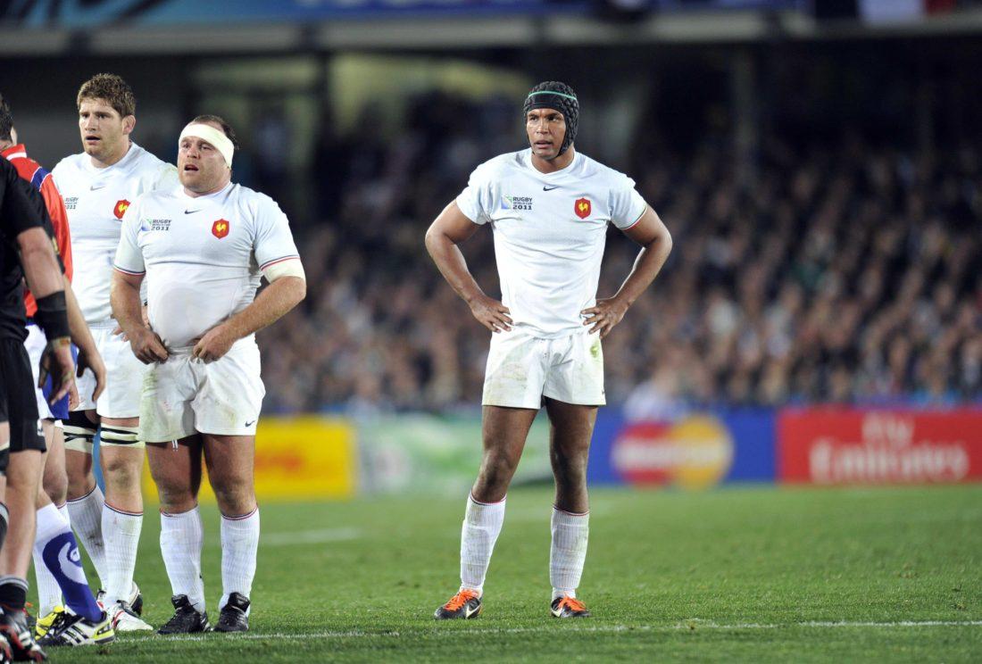 Thierry DUSAUTOIR - 23.10.2011 - France / Nouvelle Zelande - Finale de la Coupe du Monde de Rugby 2011 - Auckland  Photo : Amandine Noel / Icon Sport